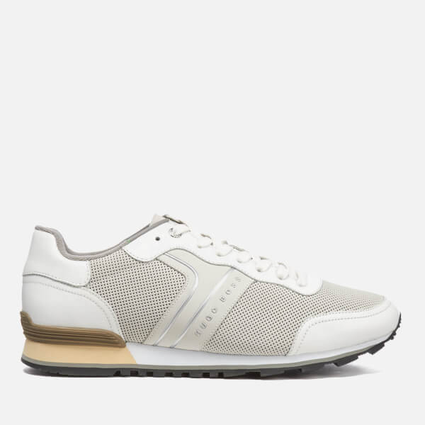 BOSS Green Men's Parkour Run Trainers - White