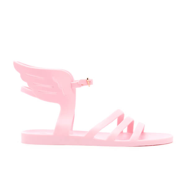 Ancient Greek Sandals Women's Ikaria Rubber Angel Jelly Sandals - Pale Pink