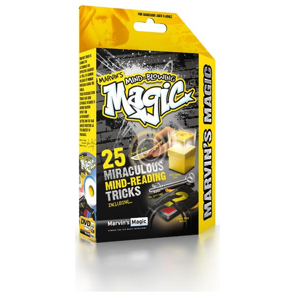 Tours de Magie Marvin's Magic Box Édition Lire dans les Pensées