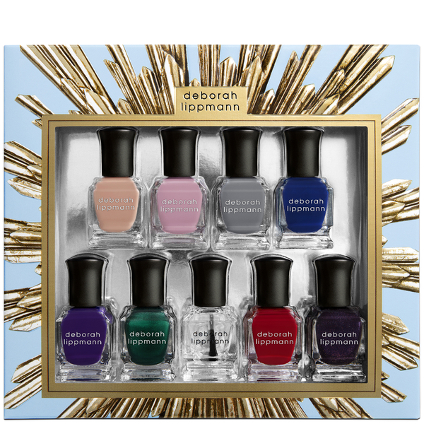 Deborah Lippmann Her Majesty Nail Varnish Gift Set (9x8ml)
