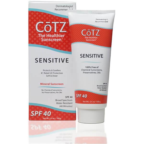 Cotz Sensitive Sunscreen SPF40