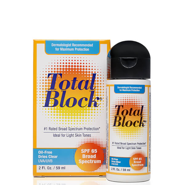 Total Block Sunscreen SPF65