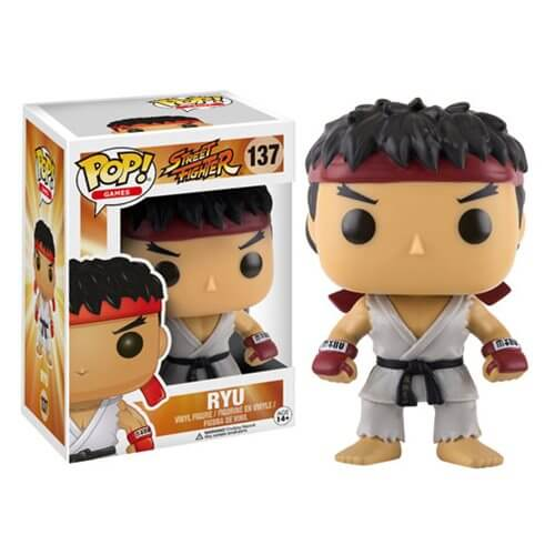 Street Fighter Ryu Pop! Vinyl Figure