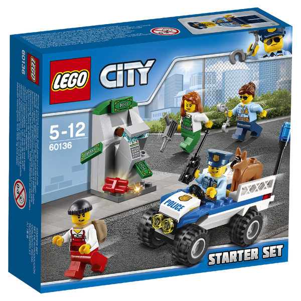 LEGO City: Ensemble de démarrage de la police (60136)