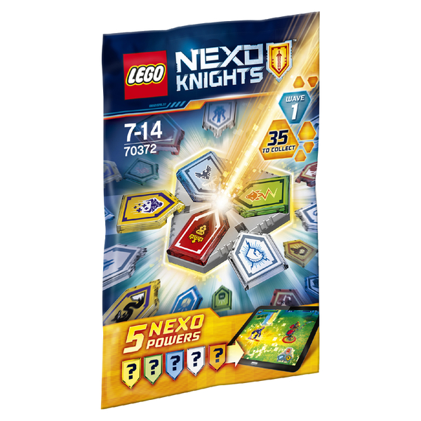 LEGO Nexo Knights: Combo NEXO Powers Wave 1 (70372)