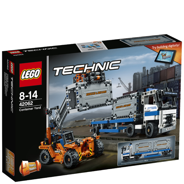 lego technic container yard 42062 toys. Black Bedroom Furniture Sets. Home Design Ideas