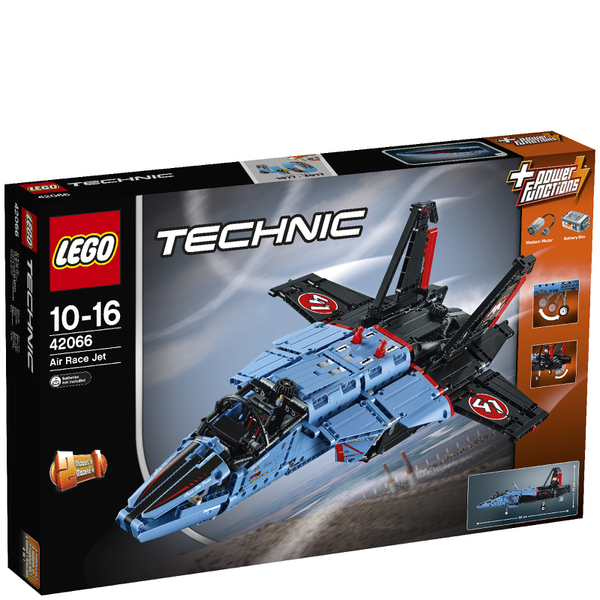 lego technic air race jet 42066 toys. Black Bedroom Furniture Sets. Home Design Ideas