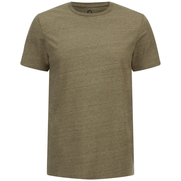 Jack & Jones Men's Core Table Textured T-Shirt - Deep Green
