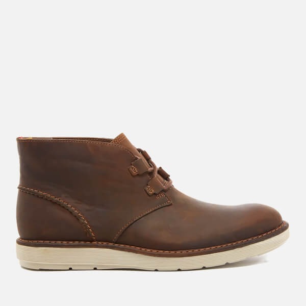 Clarks Men's Fayeman Hi Beeswax Leather Chukka Boots - Beeswax