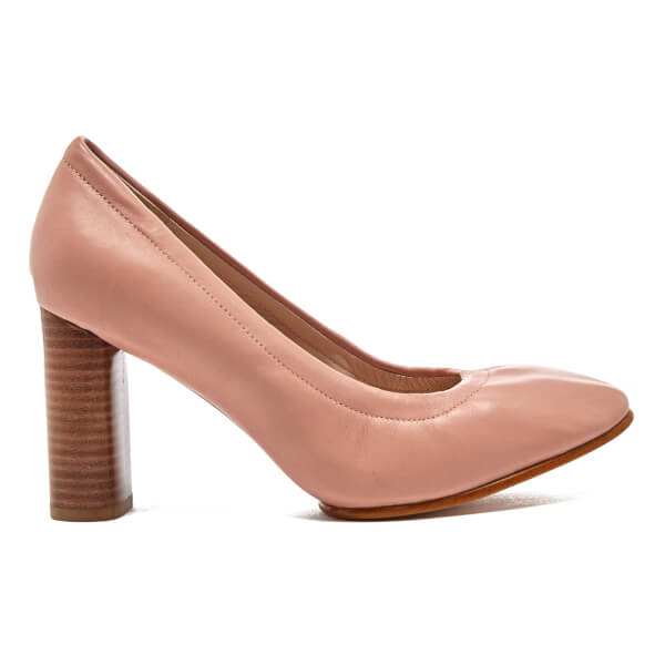 Clarks Women's Grace Eva Leather Court Shoes - Dusty Pink: Image 1