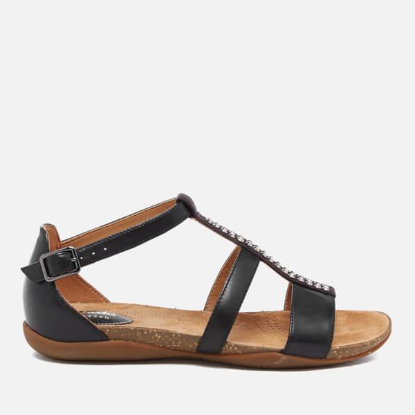 133f03a463d Clarks Women s Autumn Fresh Strappy Sandals - Black Combi  Image 1