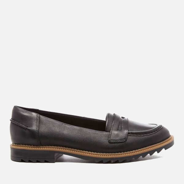 Clarks Griffin Milly Black Leather 5 UK E / 38 EU NV8RznufCs