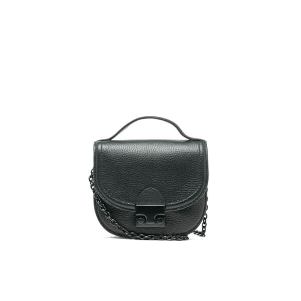 Loeffler Randall Women's Mini Cross Body Saddle Bag - Black