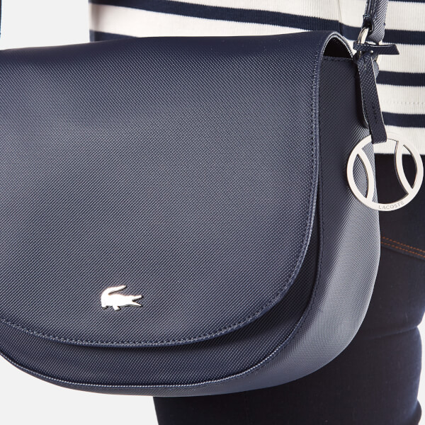 Lacoste Women's Round Crossover Bag - Navy: Image 3