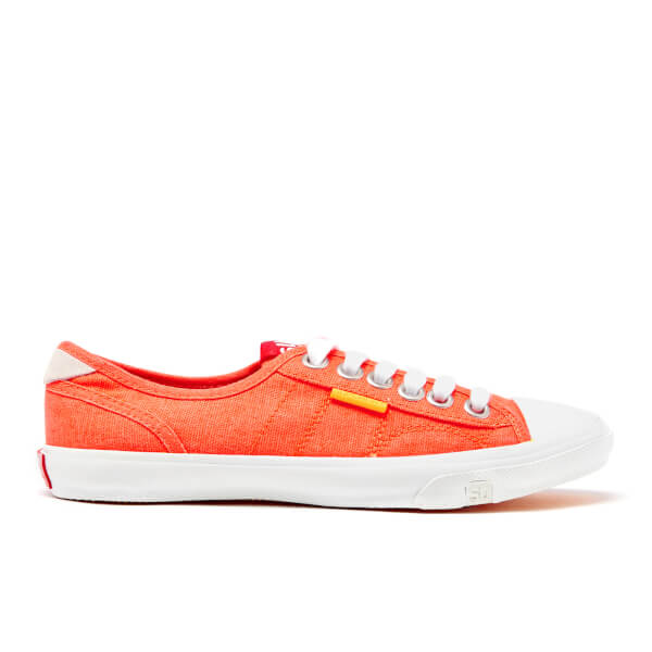 Superdry Women's Low Pro Trainers - Fluro Coral