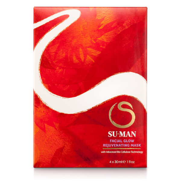 Su-Man Facial Glow Rejuvenating Mask - 4x30ml