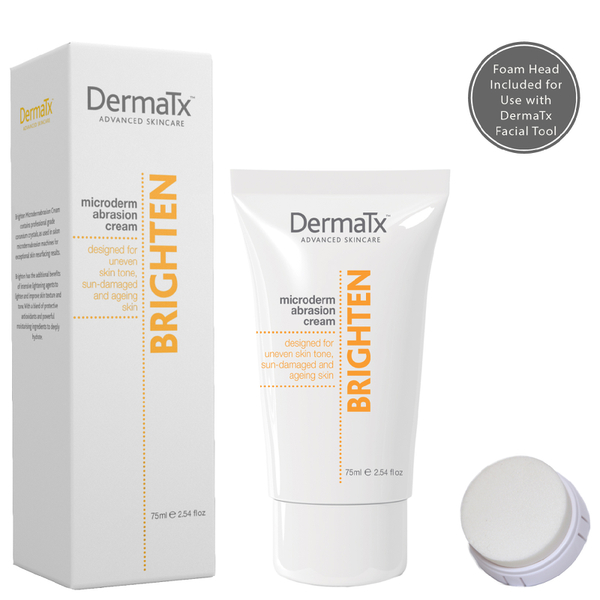 DermaTx Brighten Microdermabrasion Cream 75ml