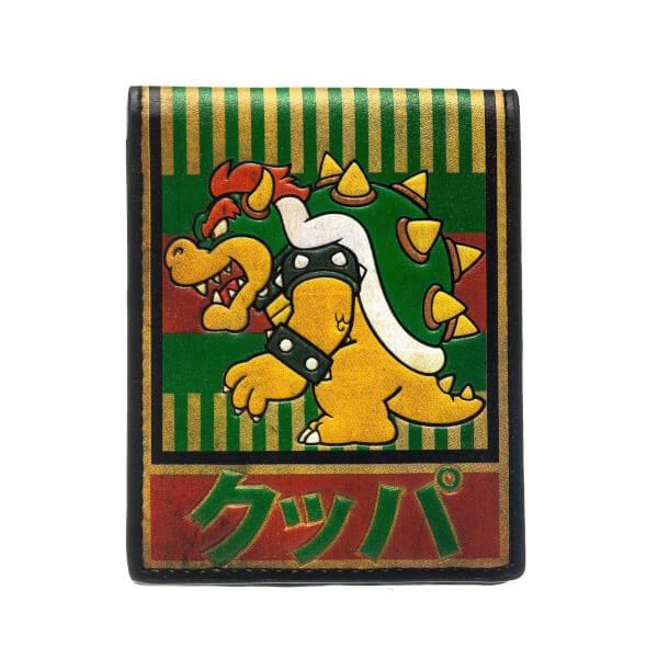 Bowser Kanji - Bi-fold Wallet