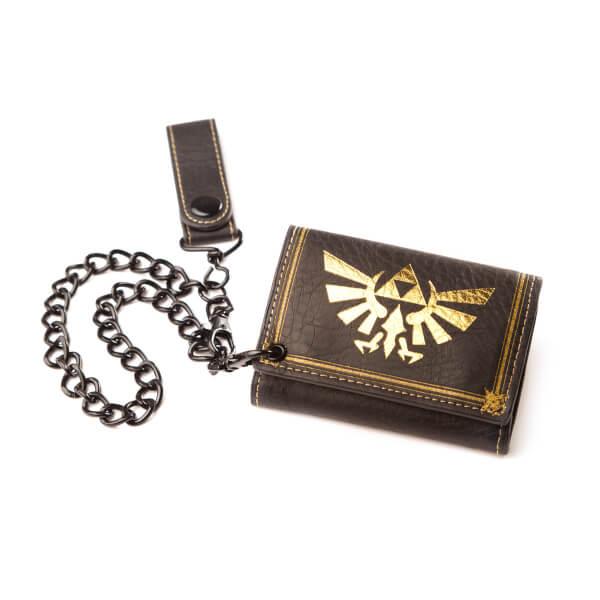 The Legend Of Zelda - Tri-fold Chain Wallet