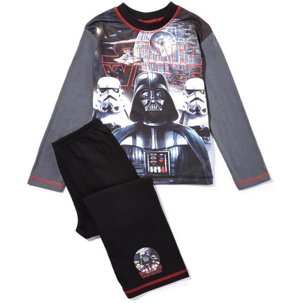 Star Wars Boy's Darth Vader Pyjamas - Grey