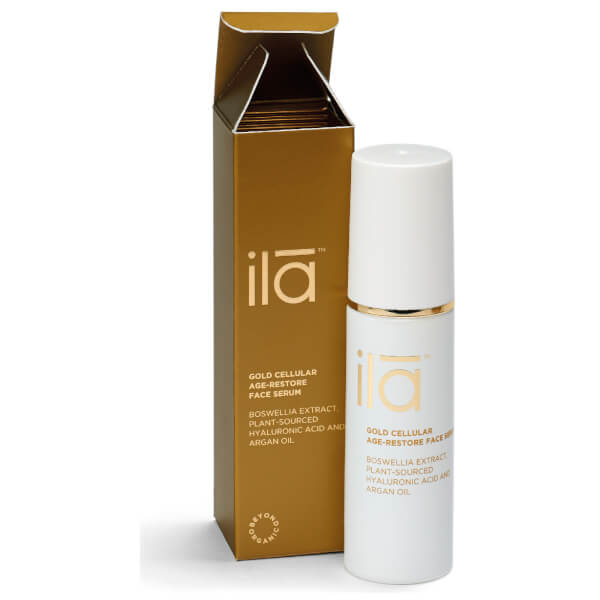 Ila-Spa Gold Cellular Age-Restore Face Serum 30ml