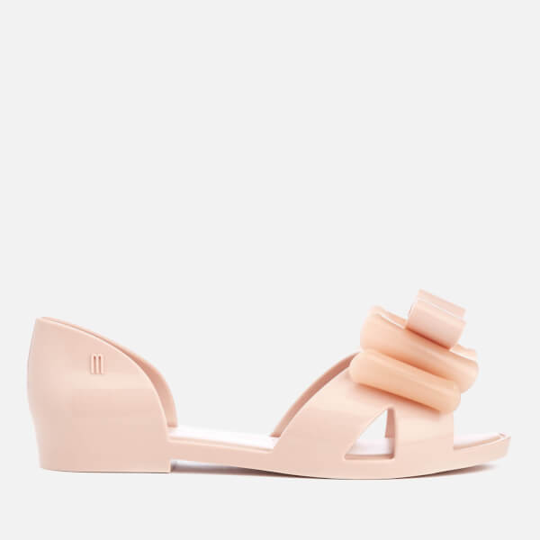 Mini Melissa Kids' Seduction Bow Flats - Blush