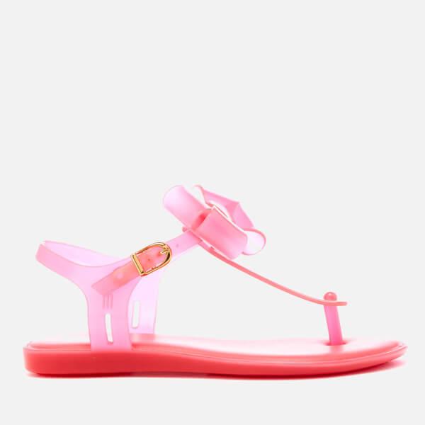 Mini Melissa Kids' Solar Bow Sandals - Bright Pink