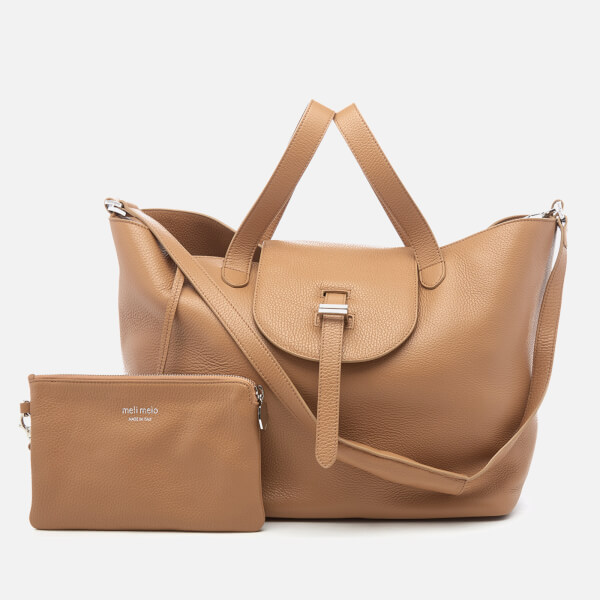 meli melo Women's Thela Tote Bag - Light Tan