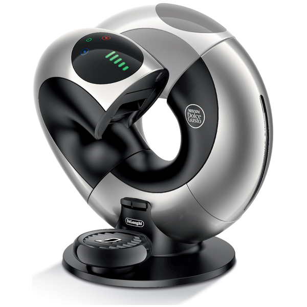de 39 longhi edg736 eclipse nescafe dolce gusto pod coffee machine silver black iwoot. Black Bedroom Furniture Sets. Home Design Ideas