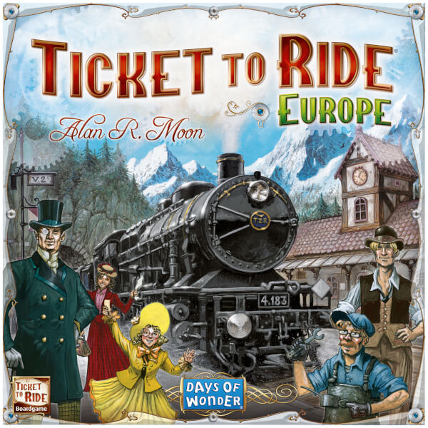 Ticket to Ride Europe Game