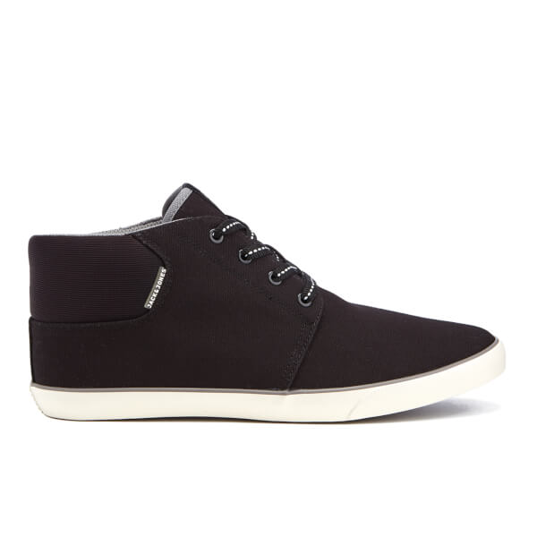 Jack & Jones Men's Vertigo Mid Top Trainers - Anthracite