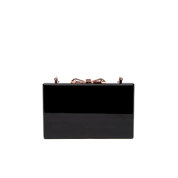 71a68423cd Ted Baker Women's Bowwe Glitter Resin Clutch Bag - Black: Image 6