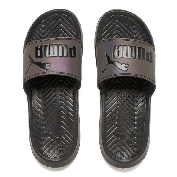 24d60729e9d0 Puma Women s Popcat Swan Slide Sandals - Puma Black