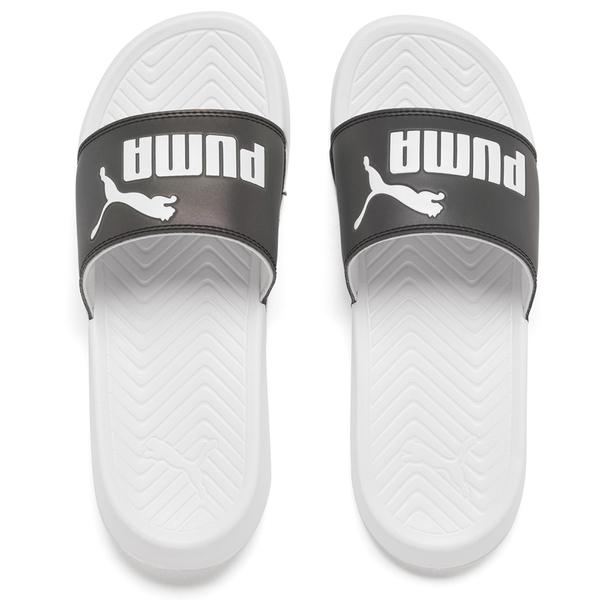 Puma Women's Popcat Swan Slide Sandals - Puma White