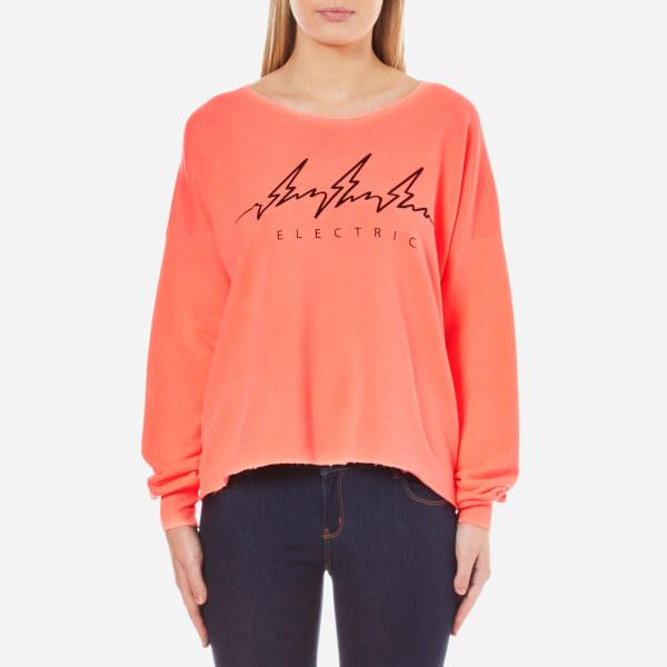 Wildfox Women's Electric 5am Sweatshirt - Peach Schnapps