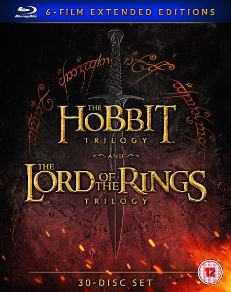 Middle Earth Collection Extended Edition Blu Ray Zavvi