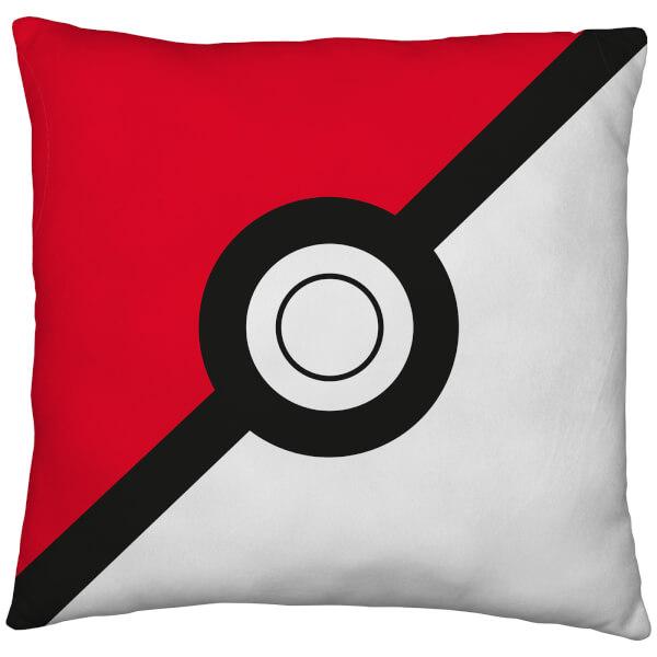 Pokémon Poké Ball / Pikachu Reversible Cushion