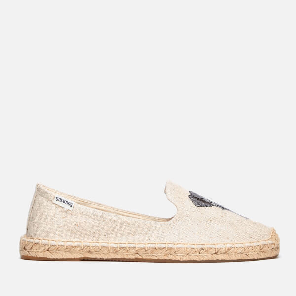 Soludos Women's Elephant Smoking Slipper Espadrilles - Sand