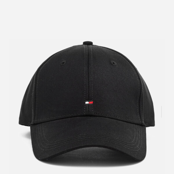 Tommy Hilfiger Men's Classic Cap - Flag Black