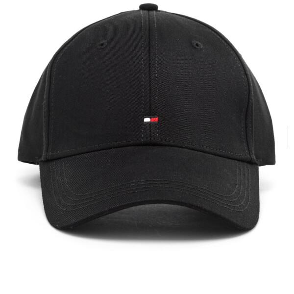 tommy hilfiger mens classic cap flag black clothing