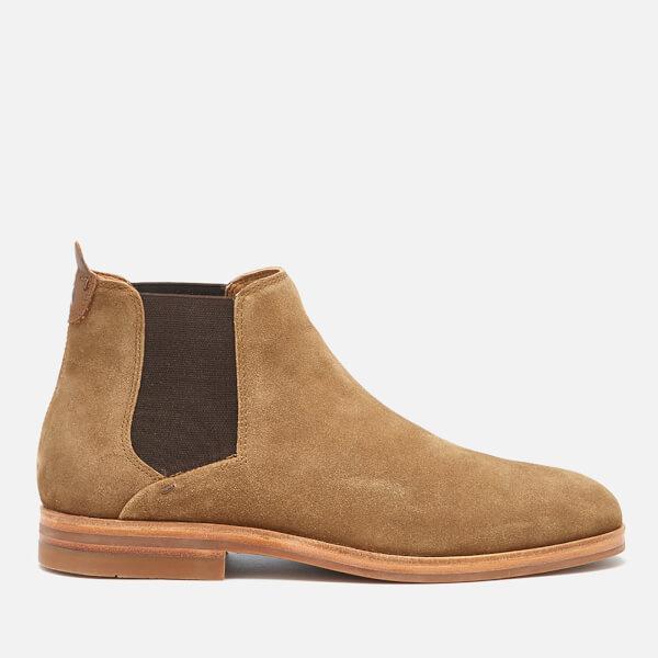 McQ Alexander McQueen Brown Suede Tonti Chelsea Boots hSuq5