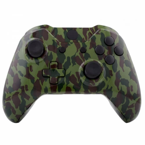 Xbox one custom controller army camouflage games for Housse manette ps4