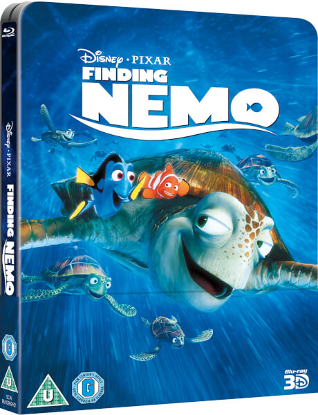 Le Monde de Nemo 3D (+ 2D) - Steelbook Lenticulaire Exclusivité Zavvi (Édition UK)