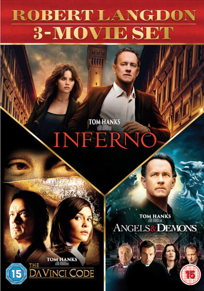 Inferno, Angels & Demons & The Da Vinci Code Boxset
