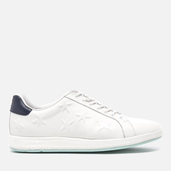 fec8d4950da3 PS by Paul Smith Women's Lapin Star Embossed Trainers - White Mono Lux:  Image 1
