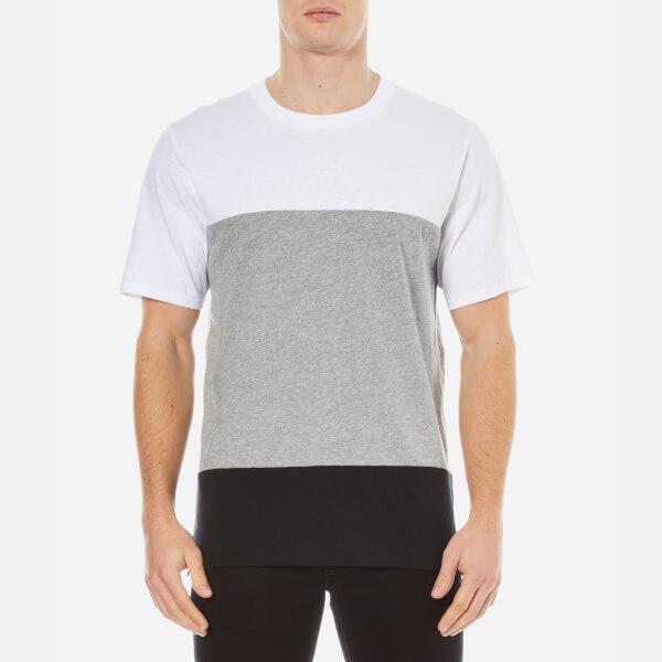 rag & bone Men's Precision Crew Neck T-Shirt - White