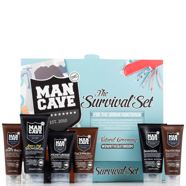 ManCave Survival 6 Part Gift Set