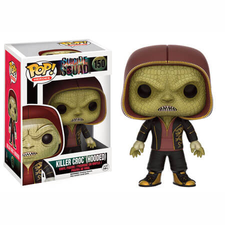 Suicide Squad Killer Croc (Hooded) Pop! Vinyl Figure