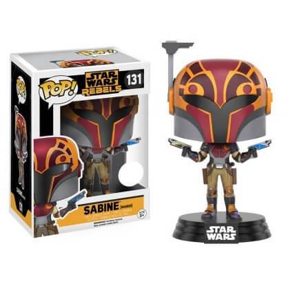 Star Wars: Rebels Sabine (Masked) Bobblehead EXC Pop! Vinyl Figure