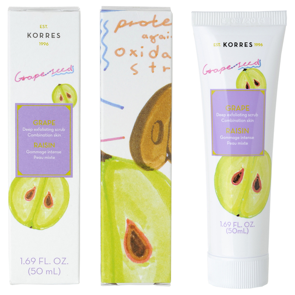 KORRES Beauty Shots Grape Scrub 50ml